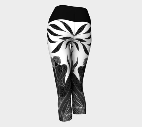Lovescapes Yoga Capris (Lovers) - Lovescapes Art