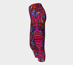 Lovescapes Yoga Capris (Harmonic Convergence)