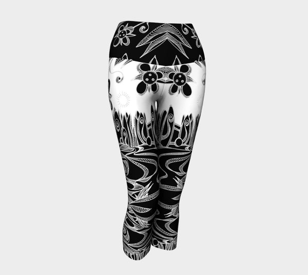 Lovescapes Yoga Capris (Spiritual Integrity) - Lovescapes Art