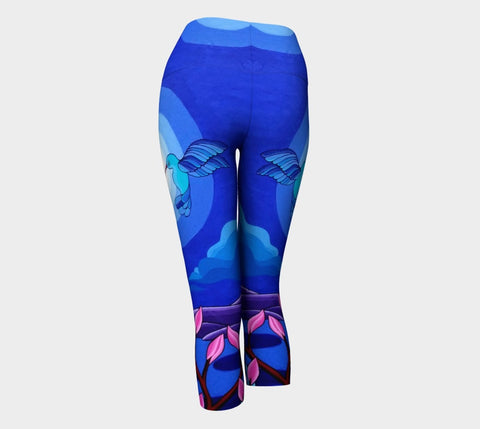 Lovescapes Yoga Capris (Dancing in the Moonlight)