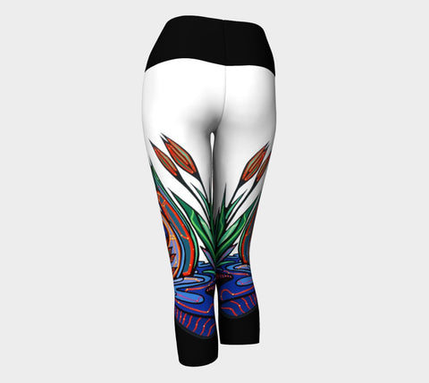 Lovescapes Yoga Capris (Loons in Love) - Lovescapes Art
