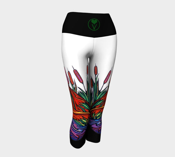 Lovescapes Yoga Capris (Twighlight Watchers) - Lovescapes Art