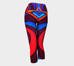 Lovescapes Yoga Capris (Vortex)