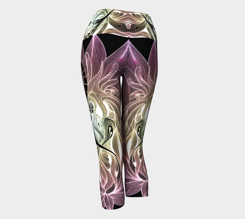 Lovescapes Yoga Capris (Twinflame Fusion) Special Edition