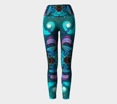 Lovescapes Yoga Leggings (Soul Travelers 02) - Lovescapes Art