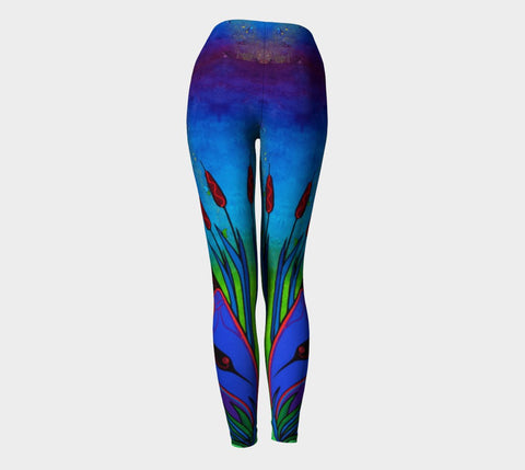 Lovescapes Yoga Leggings (Solarium 02)