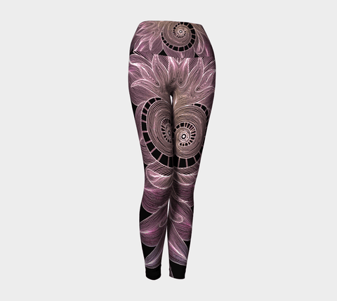Lovescapes Yoga Leggings (Twinflame Fusion 06) - Lovescapes Art