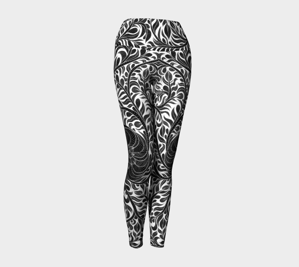 Lovescapes Yoga Leggings (Womandala 01) - Lovescapes Art