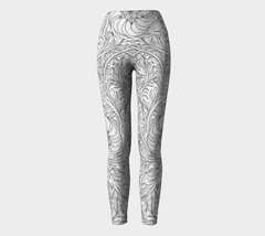 Lovescapes Yoga Leggings (Womandala 02) - Lovescapes Art