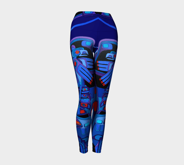 Lovescapes Yoga Leggings (Breath of the Spirit) - Lovescapes Art