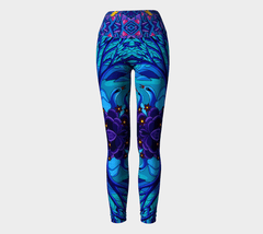 Lovescapes Yoga Leggings (Homeland)