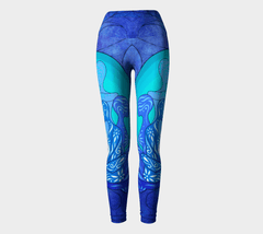 Lovescapes Yoga Leggings (Sacred Arcanum)