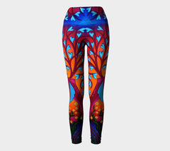 Lovescapes Yoga Leggings (Seedling) - Lovescapes Art
