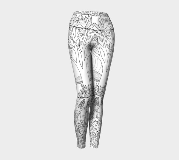 Lovescapes Yoga Leggings (Over & Under 02) - Lovescapes Art