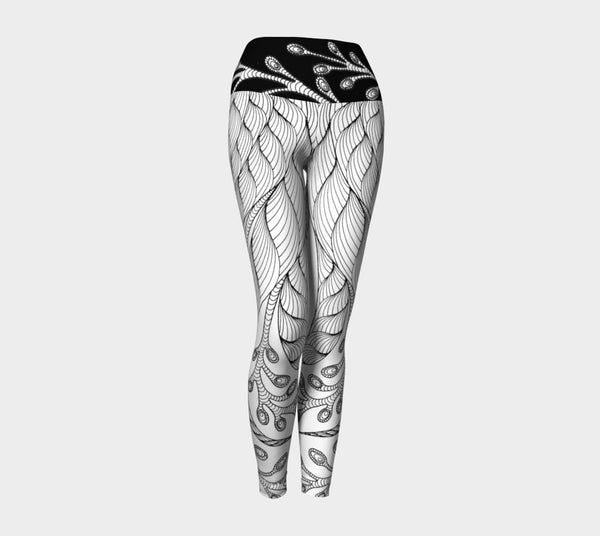 Lovescapes Yoga Leggings (Solitude 02) - Lovescapes Art
