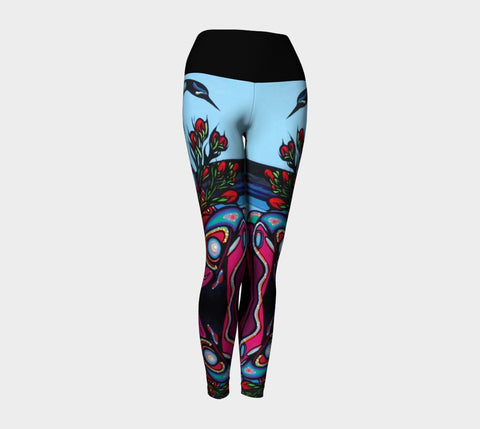 Lovescapes Yoga Leggings (Mothering Earth)
