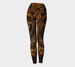Lovescapes Yoga Leggings (Maytime Melodies 02) - Lovescapes Art