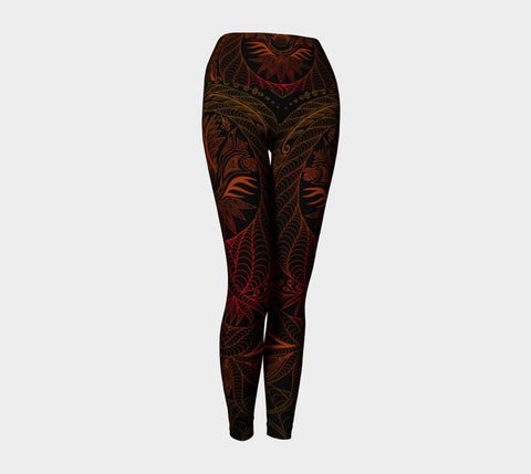 Lovescapes Yoga Leggings (Maytime Melodies 05) - Lovescapes Art