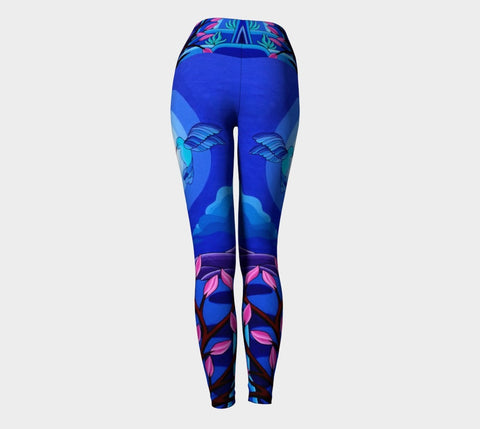 Lovescapes Yoga Leggings (Dancing in the Moonlight) - Lovescapes Art