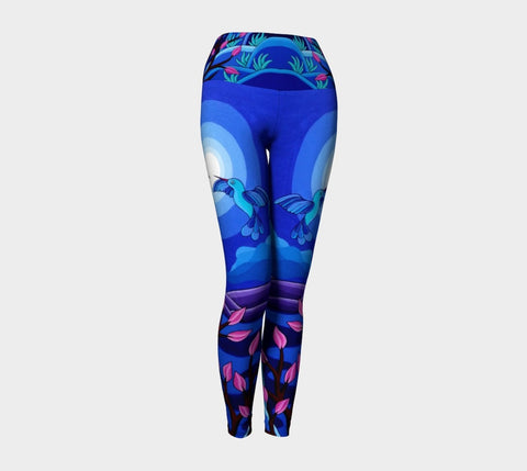 Lovescapes Yoga Leggings (Dancing in the Moonlight)