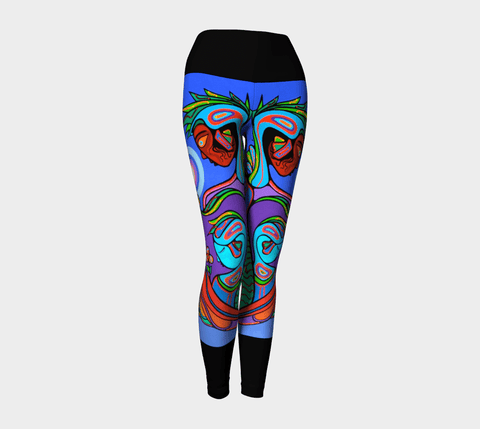 Lovescapes Yoga Leggings (Nature Of Spirit)