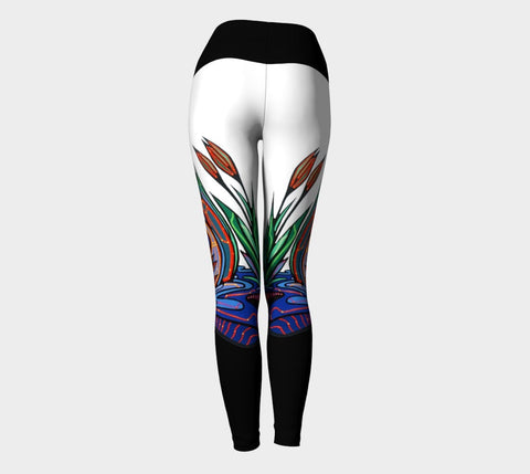 Lovescapes Yoga Leggings (Loons in Love)