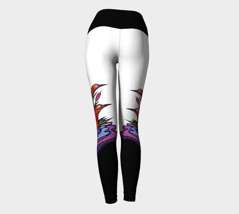 Lovescapes Yoga Leggings (Twilight Watchers) - Lovescapes Art