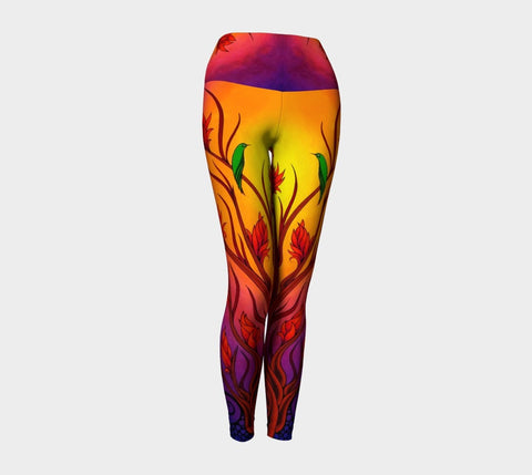 Lovescapes Yoga Leggings (Magica 01) - Lovescapes Art