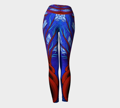 Lovescapes Yoga Leggings (Magica 02) - Lovescapes Art