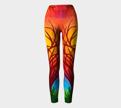 Lovescapes Yoga Leggings (Imagine 01) - Lovescapes Art