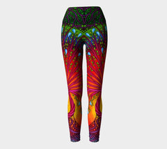 Lovescapes Yoga Leggings (Tree of Life 01) - Lovescapes Art