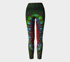 Lovescapes Yoga Leggings (Tree of Life 02) - Lovescapes Art