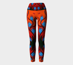 Lovescapes Yoga Leggings (Playtime in Dreamland) - Lovescapes Art