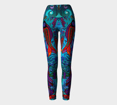 Lovescapes Yoga Leggings (Soul Travelers 01) - Lovescapes Art