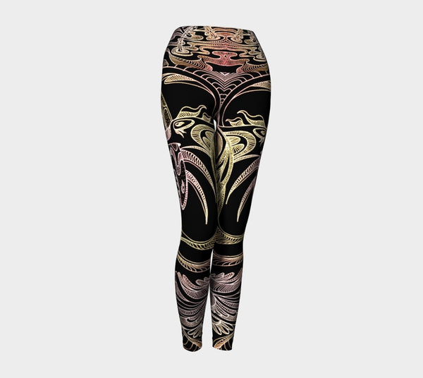 Lovescapes Yoga Leggings (Love @ War 01) - Lovescapes Art