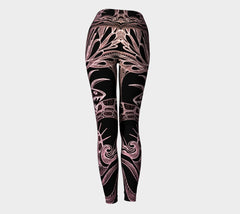 Lovescapes Yoga Leggings (Love @ War 02) - Lovescapes Art