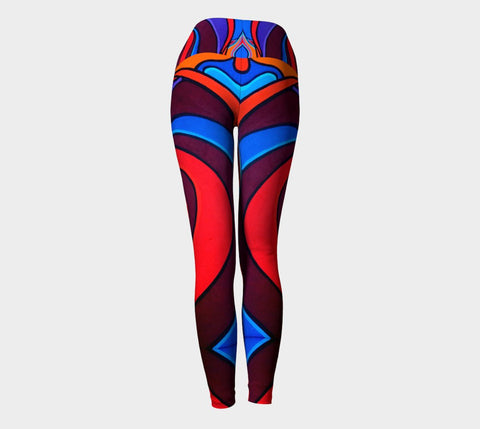 Lovescapes Yoga Leggings (Vortex 01) - Lovescapes Art