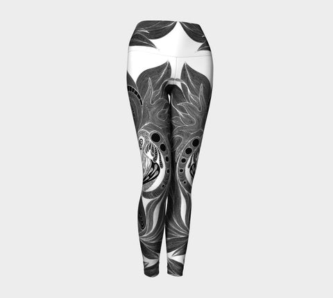 Lovescapes Yoga Leggings (Twinflame Fusion 01) - Lovescapes Art