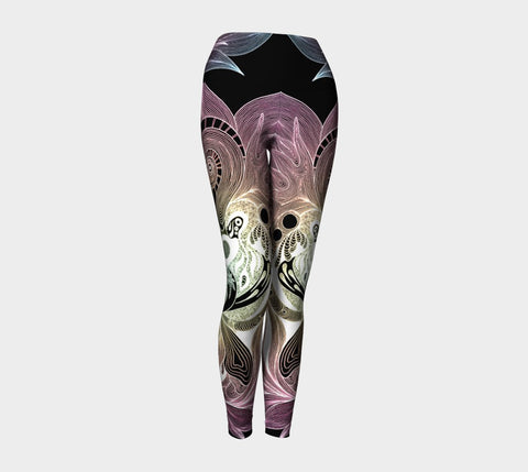 Lovescapes Yoga Leggings (Twinflame Fusion 04) Special Edition - Lovescapes Art