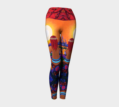 Lovescapes Yoga Leggings (The Promise) - Lovescapes Art