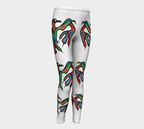 Lovescapes Young Ones Leggings (Thunderbird) - Lovescapes Art