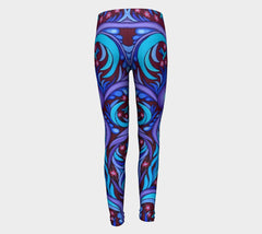 Lovescapes Young Ones Leggings (Wirl-Wind Sonnet) - Lovescapes Art