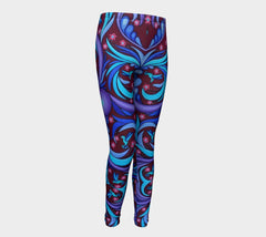 Lovescapes Young Ones Leggings (Wirl-Wind Sonnet)