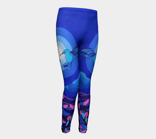 Lovescapes Young Ones Leggings (Dancing in the Moonlight) - Lovescapes Art