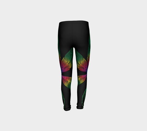 Lovescapes Young Ones Leggings (Angel Feathers 01) - Lovescapes Art