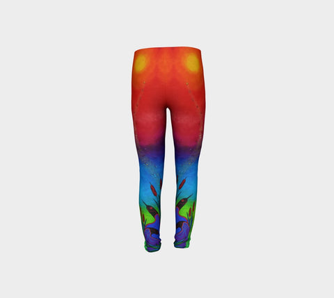 Lovescapes Young Ones Leggings (Solarium 01) - Lovescapes Art
