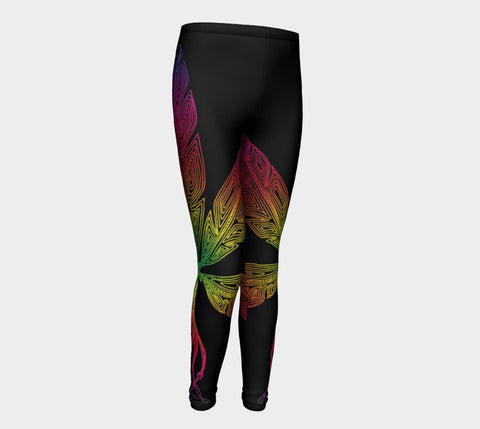 Lovescapes Young Ones Leggings (Angel Feathers 02) - Lovescapes Art