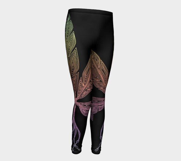 Lovescapes Young Ones Leggings (Angel Feathers 03) - Lovescapes Art