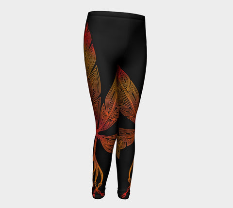 Lovescapes Young Ones Leggings (Angel Feathers 04) - Lovescapes Art
