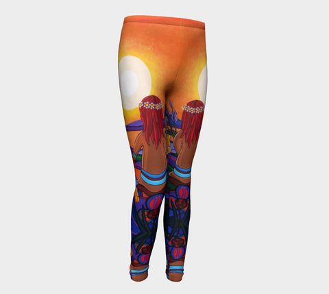Lovescapes Young Ones Leggings (The Promise) - Lovescapes Art